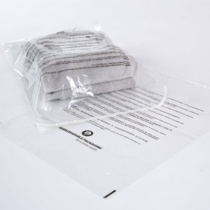 Bio Multilingual Peel and Seal Safety Bag
